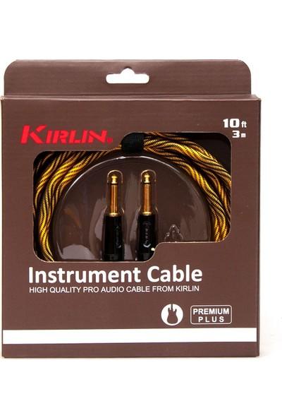 Kirlin Iwb201Bfg3Mwbo Wave 1/4 -1/4 Enstrüman Kablosu