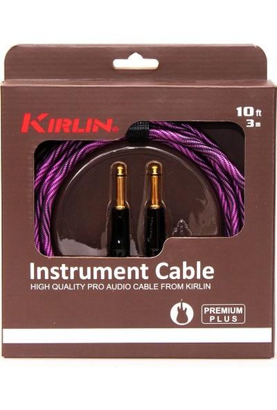 Kirlin Iwb201Bfg3Mwbp Wave 1/4 -1/4 Enstrüman Kablosu
