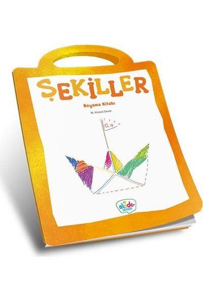 Şekiller Boyama Kitabı - Ahmet Demir
