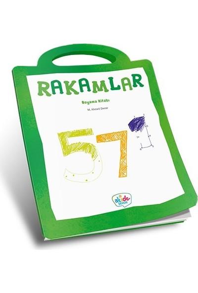 Rakamlar Boyama Kitabı - Ahmet Demir