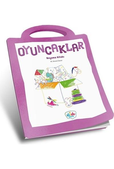 Oyuncaklar Boyama Kitabı - Ahmet Demir