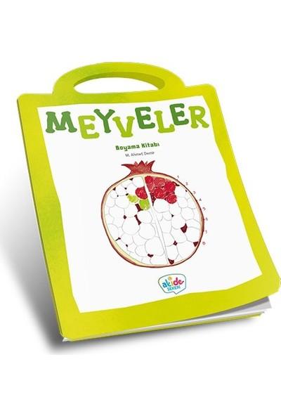 Meyveler Boyama Kitabı - Ahmet Demir
