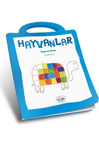 Hayvanlar Boyama Kitabı - Ahmet Demir