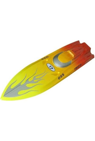 Vantex Flame Racing 600BP (Red,yellow) 60CM Brushless Tekne