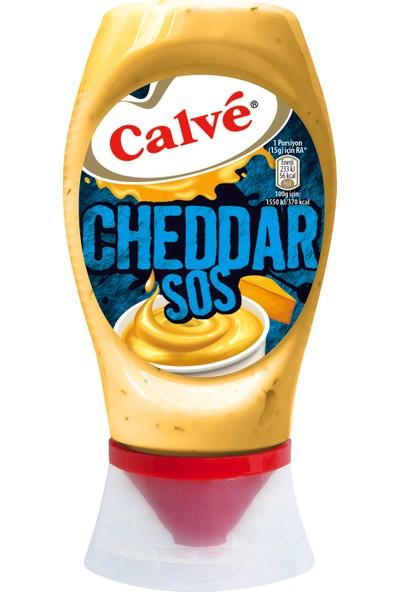 Calve Cheddar Sos 240 gr