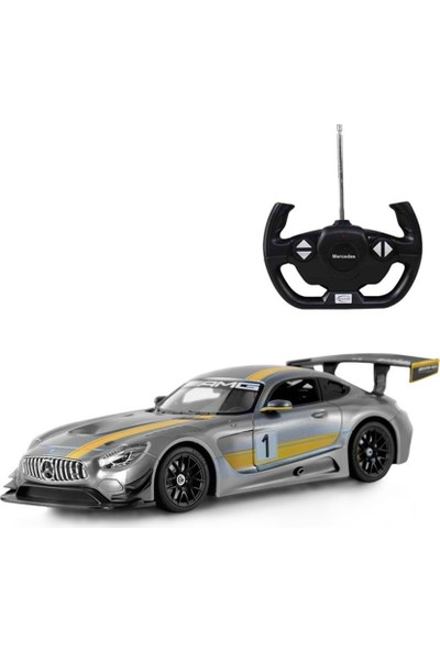 Mercedes Benz Uzaktan Kumandalı AMG GT3 Işıklı Araba 1/14