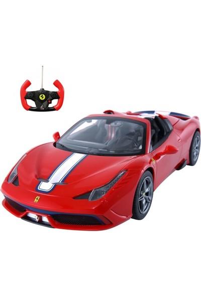 Ferrari Speciale Cabrio 458 Uzaktan Kumandalı USB Şarjlı Araba 1/14