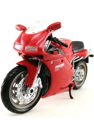 Ducati 998S Model Spor Motor 1/12