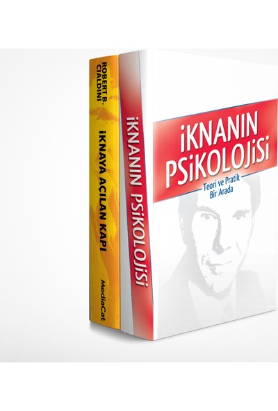 İknanın Psikolojisi Seti (2 Kitap Takım) - Robert B. Cialdini