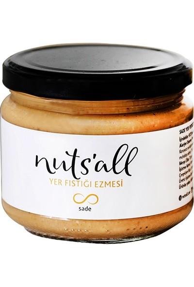 Nuts'All Sade Yer Fıstığı Ezmesi 280 gr