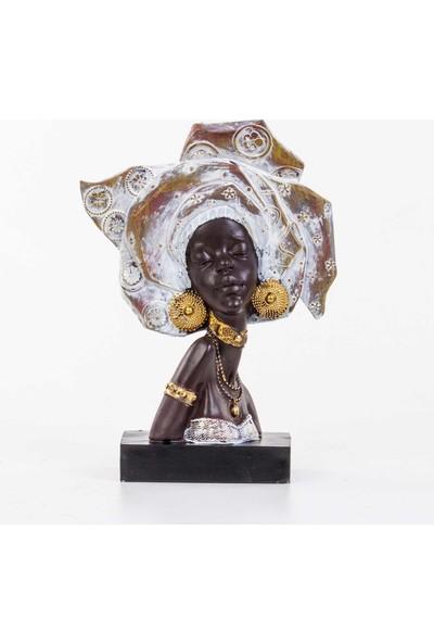 Piyop Bi̇blo Afri̇kali Kadin 24,4 x 10 x 34,3 cm
