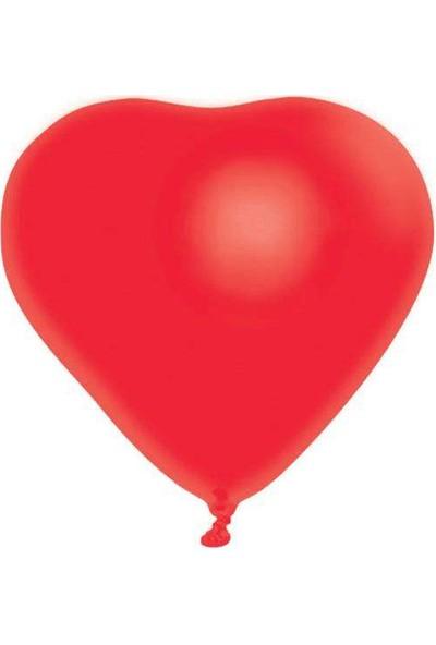 Atom Kalp Balon 100 Adet Baskısız
