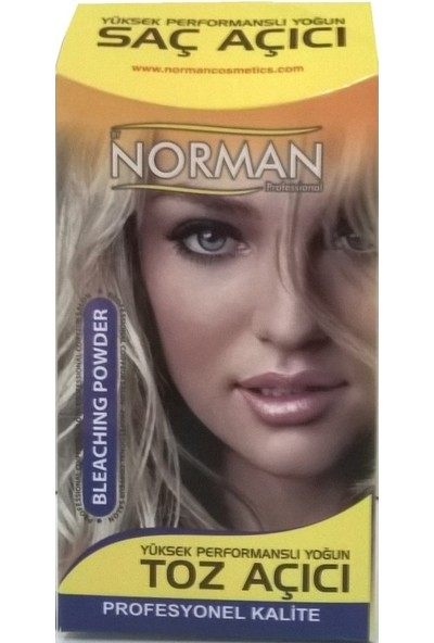 Kral Norman Toz Saç Açıcı