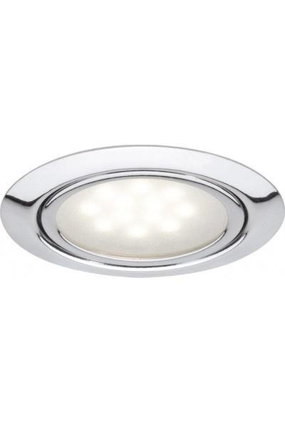 Paulman 3 x 1W LED Set Chrom Gömme Spot