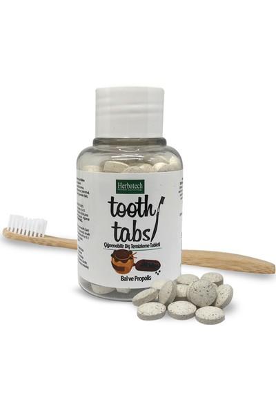Herbatech Çiğnenebilir Diş Temizleme Tableti (Bal ve Propolis)