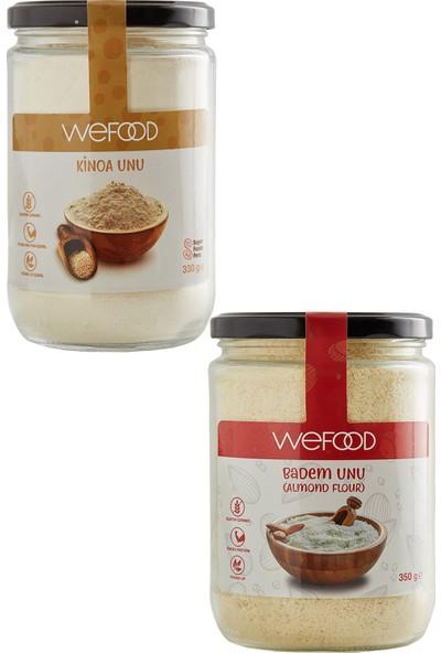 Wefood Kinoa Unu 330 gr + Badem Unu 350 gr
