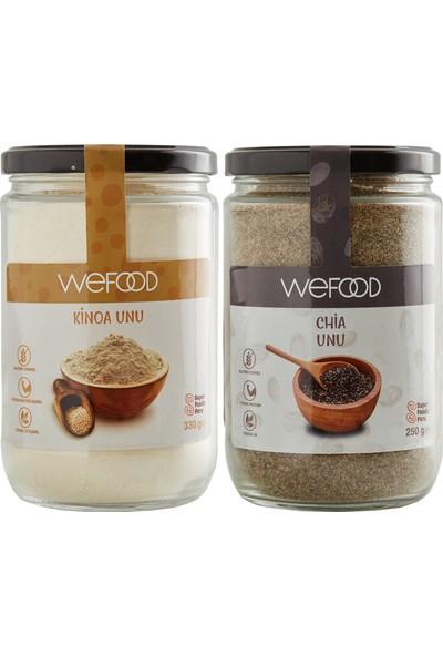 Wefood Kinoa Unu 330 gr + Chia Unu 250 gr