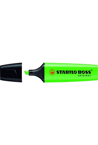 Stabilo Boss 70/33 Fosforlu Kalem - Yeşil