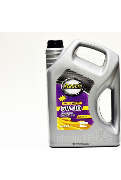 Rasch 5W/30 4 Litre Motor Yagı