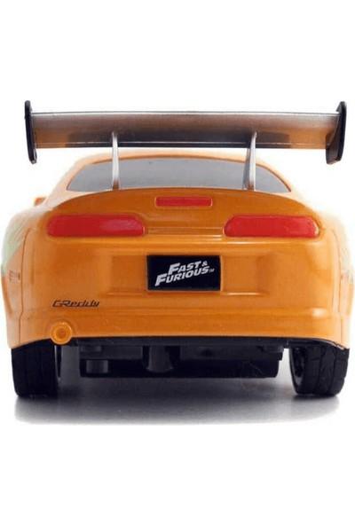 Jada Fast and Furious Toyota Supra Turuncu Araba 1/24 Ölçekli