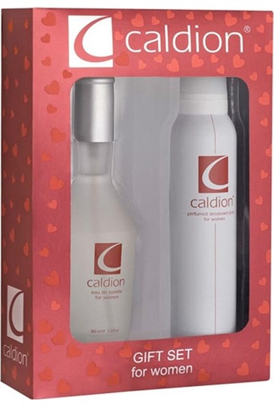 Caldion Women Edt 100 Ml Kadın Parfümü + 150 Ml Deodorant Set
