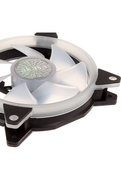 Akasa Vegas AR7 12cm Anakart Kontrollü Adreslenebilir Ring RGB LED' li Kasa Fanı (AK-FN099)