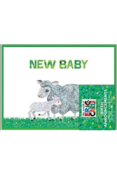 Chronicle Books Eric Carle Dünyası ™ Baby Shower Teşekkürler Notları Thank You