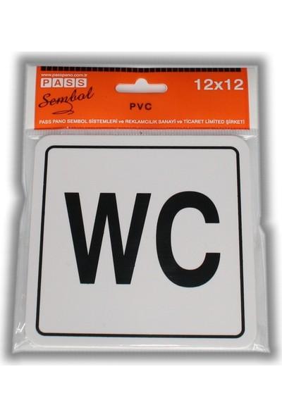 Passpano Pvc Wc 12 x 12 cm