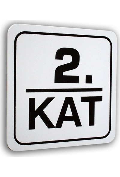Passpano Pvc KAT NO Sembol 12 x 12 cm