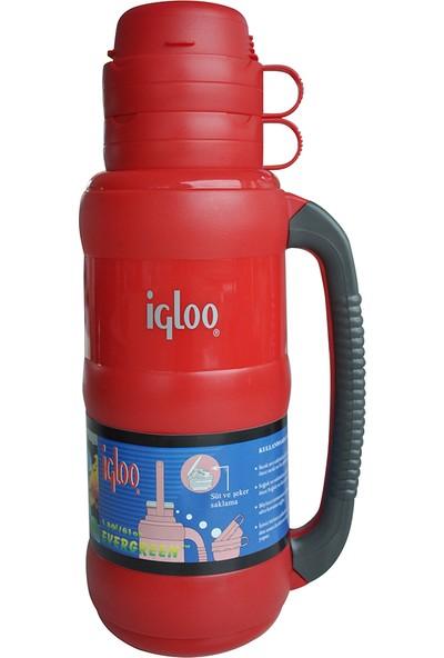 Igloo İçi Cam Bardaklı Termos 1.8 Litre