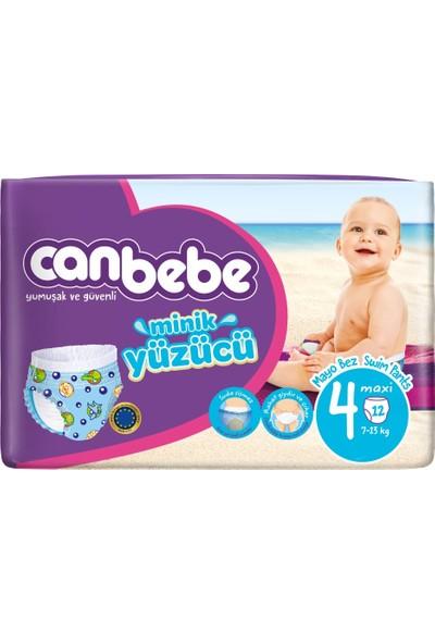 Canbebe Mayo Bebek Bezi Maxi 4 Beden 12 Adet