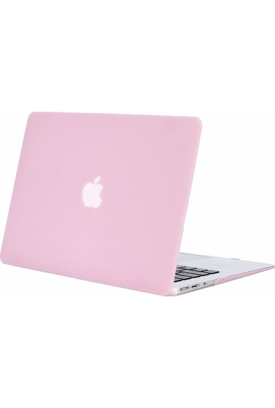 "Codegen Apple 13"" 2018 Macbook Air A1932 Pembe Kılıf Kapak CMAT-133P"