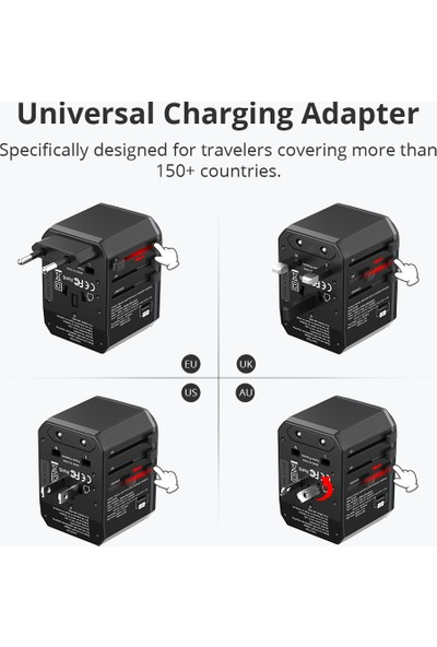 Tronsmart WCP05 33W Pd Universal Şarj Adaptörü