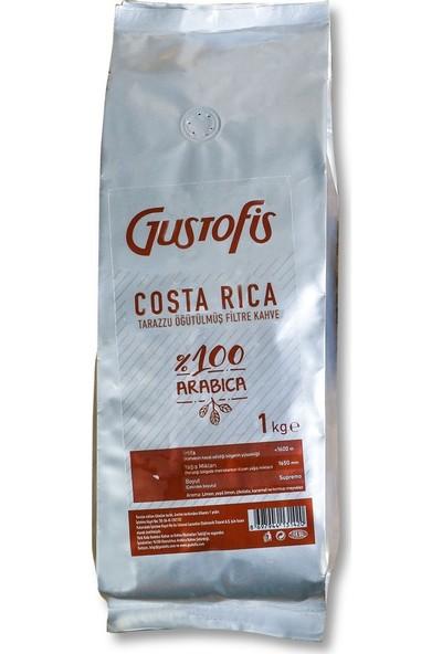 Gustofis Costarica Tarazzu Öğütülmüş Filtre Kahve 1 kg