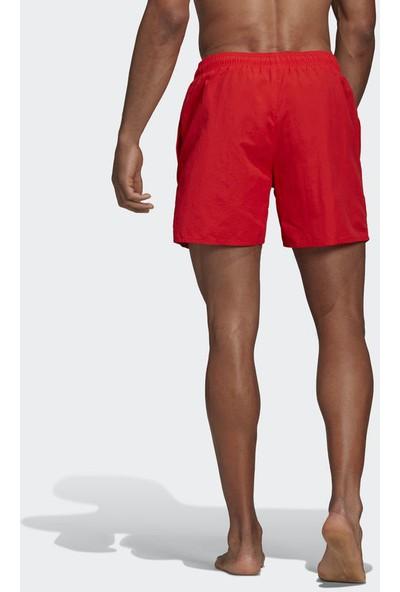 Adidas Kırmızı Erkek Mayo Şort Dq2973 Solid Sh Sl