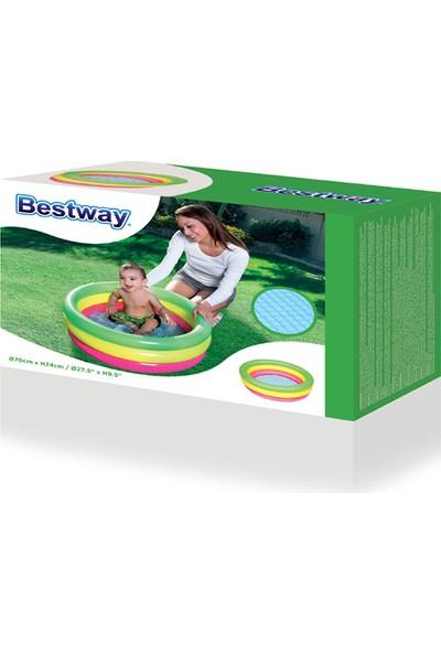 Bestway Şişme Havuz Bebekler Için 70 cm Çapı Şişme Taban BW51128