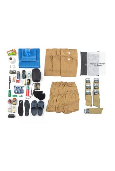 Acemi / Bedelli Askerlik Malzeme Paketi 7'li İlkbahar Yaz Paketi