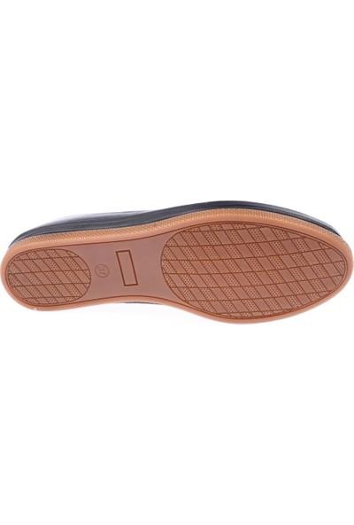 Dgn 202 Kadın Poli Taban Asimetrik Kesimli Slippers Babet Siyah