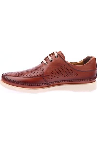 Dgn 900 Erkek Bağcıklı Comfort Anatomic Ayakkabı Taba