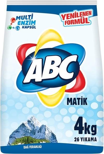 Abc Matik Toz Deterjan Dağ Ferahlığı 4 kg