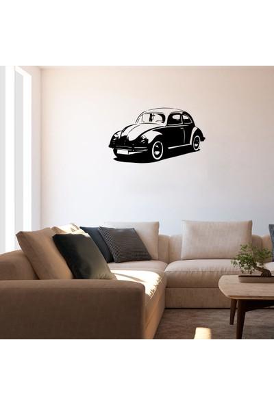 New Jargon Vosvos Araba Sticker - Siyah 60 x 34 cm