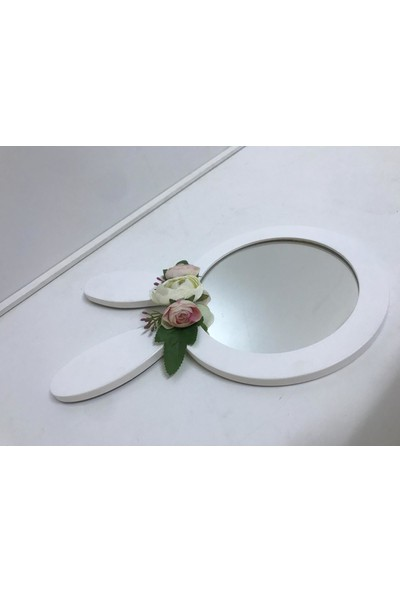 Lalula Kids Home Bunny Flower Mirror
