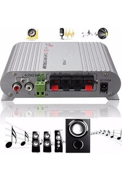 GOB2C HiFi MP3 Stereo Bas Hoparlör Güçlendirici