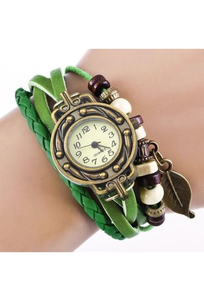 GOB2C GOB2CQUARTZ Kadın Kol Saati-Yeşil
