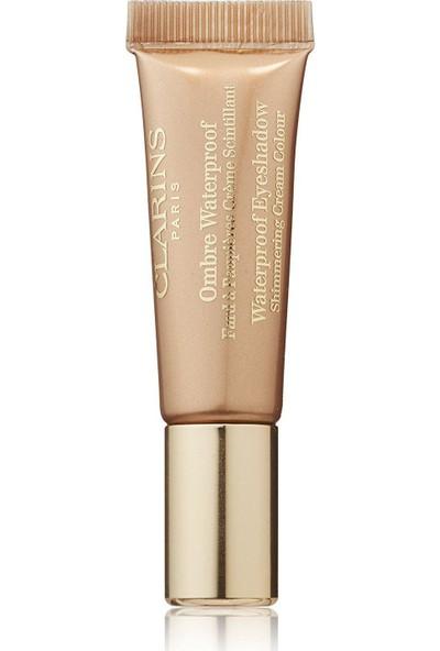 Clarins Waterproof Cream Eyeshadow Golden Sand-02