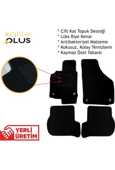 Kaliteplus Nissan Qashqai 2016 Model Premium Halı Paspas Seti Siyah