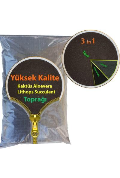 Bitbest 3 in 1 Kaktüs Aloevera Lithops Succulent Toprağı 10 lt