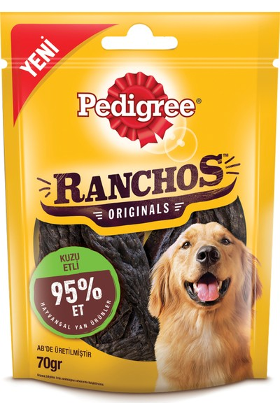 Pedigree Ranchos Kuzulu Köpek Ödül Maması 70 Gr