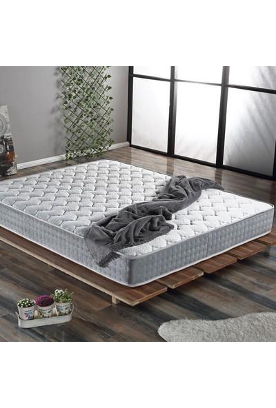 Us. Sleepıng Full Grey Yaylı Yatak 140 X 200
