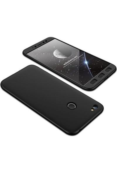 Tbkcase Xiaomi Redmi Y1 360 Full Korumalı Kapak Siyah